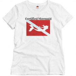 Certified Mermaid Dive Tee