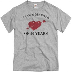 50th Wedding Anniversary shirt