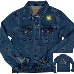 I Love St Patrick's Day, Denim Jacket