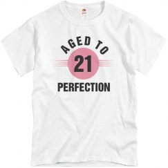 21 aged to perfection