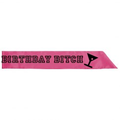 BIRTHDAY SASH