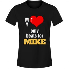 Heart beats for Mike