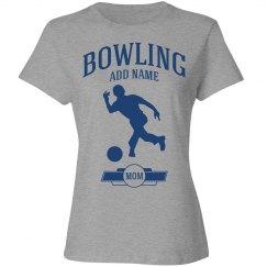Bowling mom shirt