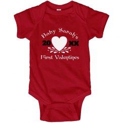 Baby's 1st Valentine's