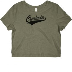 Cheerleader Crop Top