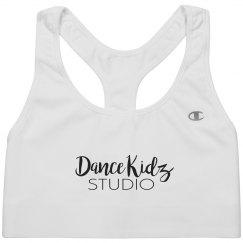 Dance Kidz Studio sports bra