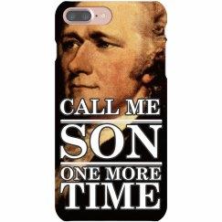 Hamilton Call Me Son iPhone Case
