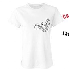 Cardinal Lacrosse Tee