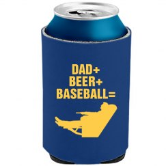 Dad Loves Beer And Ball