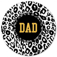 Zebra Dad Coaster