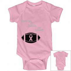 Pink out - infant onsie