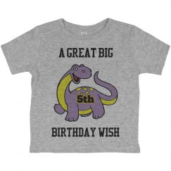 A big birthday wish