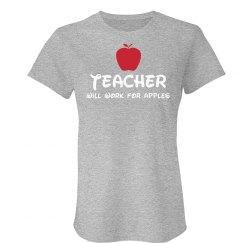 Teachers Work for Apples
