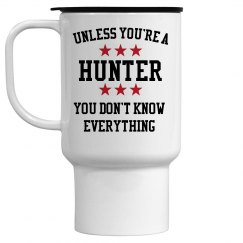 Hunters know all
