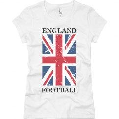 England Futbol T-shirt