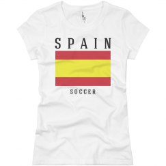 Spain Flag Soccer Fan