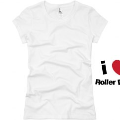 I Love Roller Derby Shirt