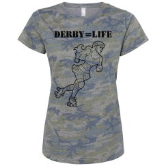 Derby Is Life Camo Shirt