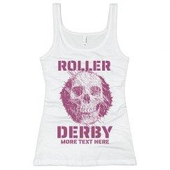 Roller Derby Skull Tank