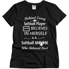Softball mom - Believed first