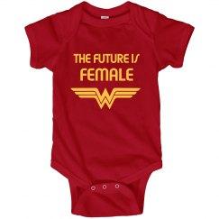Future Is Female Wonder Woman Parody