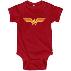 Wonder Woman Baby Cute Parody