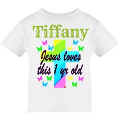 PERSONALIZED CHRISTIAN 1 YR OLD