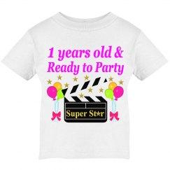 1ST BIRTHDAY SUPER STAR DESIGN