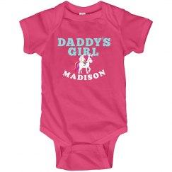 Daddy's Girl Cute Unicorn