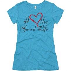 I Heart the Guard Life (Vintage Heart & Heart Script)