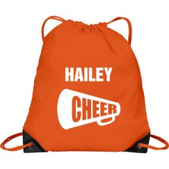 Hailey cheer bag