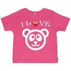 I love Teddy Bear!
