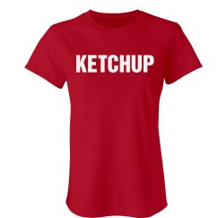 Ketchup Couples Shirt
