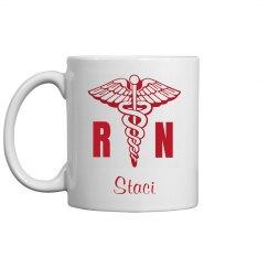 Custom Nurse Mug