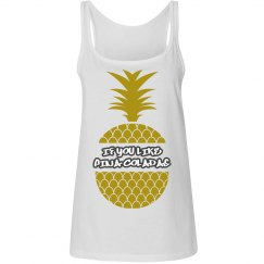 If You Like Pina Coladas Tank