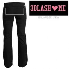 3D Lash Me Yoga Pants