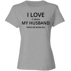 Love husband love bowling