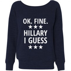 Hillary I Guess Slouchy Sweater