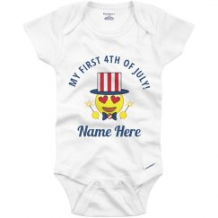 My First 4th of July Baby