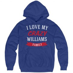Crazy williams family