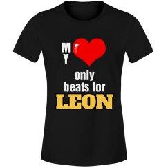 Heart beats for Leon