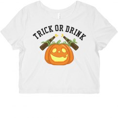 Trick Or Drink For Halloween