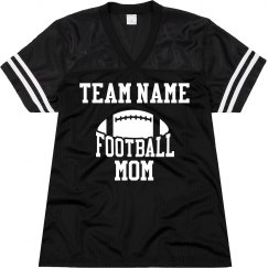 Custom Football Mom Name