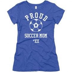 Rhinestone Bling Soccer Mom