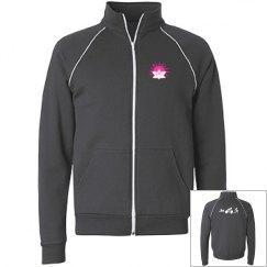 Triathlete zip up jacket