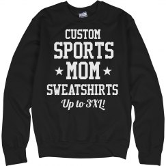 Custom Plus Size Sports Mom