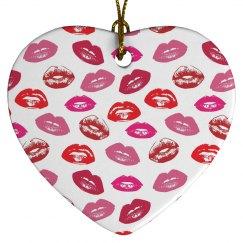 Cool Lips Ornament
