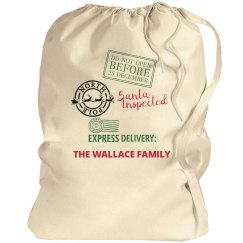 North Pole Special Delivery Sack