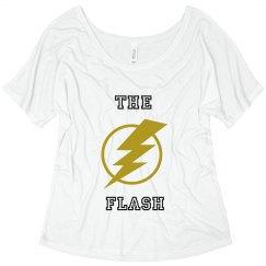 The Flash Crop Shirt