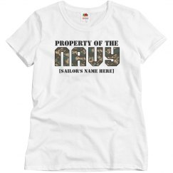 Property of the navy